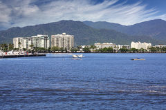 Cairns QLD. The beautiful tourist  city of Cairns in Queensland Australia Stock Photo