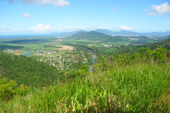 Cairns - Queensland, Australia. View of Cairns from Barron Gorge National Park - Queensland, Australia Stock Photography