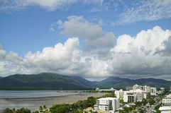 Cairns on a stormy day Stock Photography