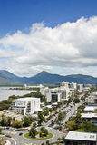 Cairns view 1807. View of tropical Cairns in North Queensland royalty free stock images