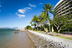 Cairns Waterfront on a Winter's Day Stock Photography