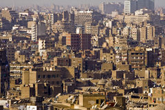 Cairo. View of Cairo, one of most densely populated cities in the world Stock Photography