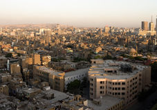 Cairo from above Stock Image