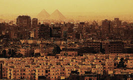 Cairo Attractions. Egypt, Africa. Stock Photography
