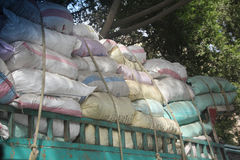 Cairo bulk truck Royalty Free Stock Photography