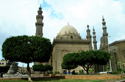 cairo citadel Kairodragningar Egypten Afrika Arkivbilder