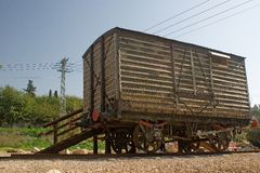 Cairo Damascus old train line Royalty Free Stock Images