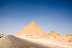 cairo egypt giza pyramid Arkivbilder