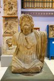 Man Bust of Greco- Roman at Egyptian Museum royalty free stock images
