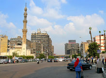 CAIRO, EGYPT - NOVEMBER 9, 2008: Cairo city center. Stock Photo