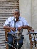 Cairo, Egypt - September 26, 2015: Friendly Egyptian man. Royalty Free Stock Images
