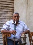Cairo, Egypt - September 26, 2015: Friendly Egyptian man. Stock Photography