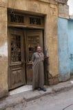 Cairo, Egypt - September 26, 2015: Friendly Egyptian man. Royalty Free Stock Photography