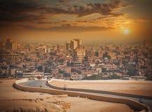 cairo Egypt Wielki miasto w Afryka Fotografia Royalty Free