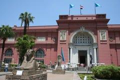 cairo egyptiermuseum Royaltyfria Bilder