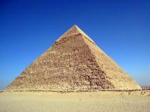 cairo giza khafrepyramid arkivfoton