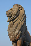 Cairo Lion Guard Kasr El Nil Bridge Royalty Free Stock Photos