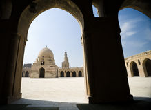 cairo meczetu zdjęcie stock