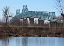 Cairo Mississippi River Bridge Royalty Free Stock Photography