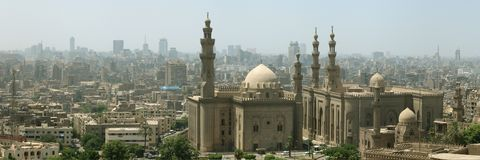 Cairo mosque stock photo
