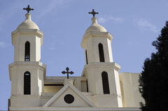 cairo muallaqa kościelny koptyjski Egypt el Obrazy Royalty Free