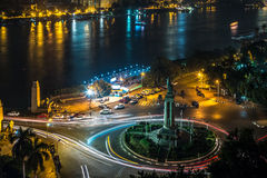 Cairo at night Stock Photography