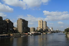 Cairo at the Nile Royalty Free Stock Images