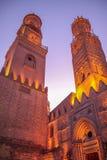 Cairo old town night shot Royalty Free Stock Photos