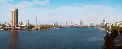 Cairo Panorama at Daylight Stock Images