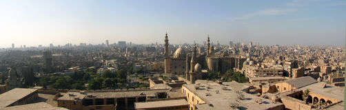 Cairo panorama Royalty Free Stock Images