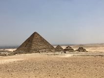 Cairo Pyramyds royalty free stock photography