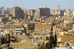 Cairo residential Stock Photography