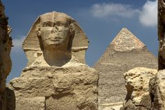 cairo sfinks Egiptu obraz royalty free