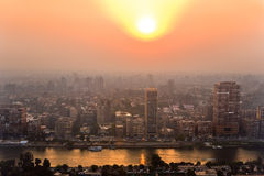 The Cairo skyline Stock Photography