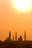 Cairo sunset Royalty Free Stock Photo