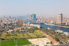 Cairo from Top - Egypt Stock Photography