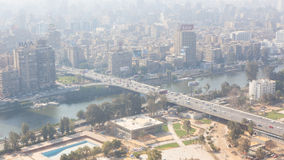 Cairo from Top - Egypt Stock Photo
