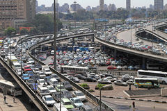 Cairo traffic Royalty Free Stock Photos