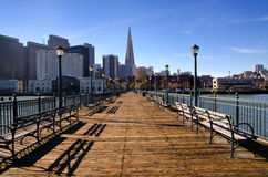 Cais 7 San Francisco Imagens de Stock