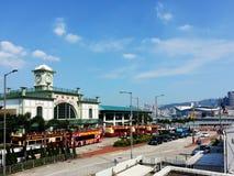 Cais central em Hong Kong Foto de Stock Royalty Free