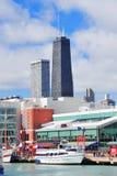 Cais da marinha de Chicago Imagens de Stock