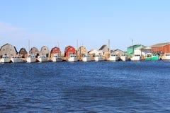Cais da pesca foto de stock