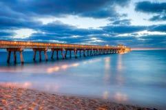 CAIS DA PESCA DE FLORIDA Imagem de Stock Royalty Free