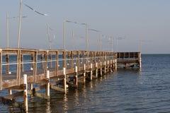 Cais da pesca de Florida Fotografia de Stock