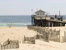 Cais da praia Foto de Stock Royalty Free