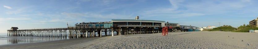 Cais da praia do cacau Fotografia de Stock