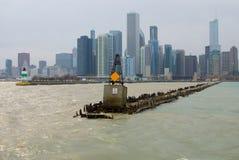 Cais de Chicago Fotografia de Stock Royalty Free