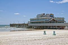 Cais de Daytona Beach fotografia de stock royalty free