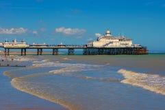 Cais de Eastbourne imagens de stock royalty free