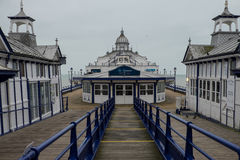 Cais de Eastbourne fotografia de stock